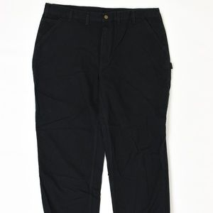 Carhartt Big & Tall 44 Black 44x 30 Relaxed Cotton